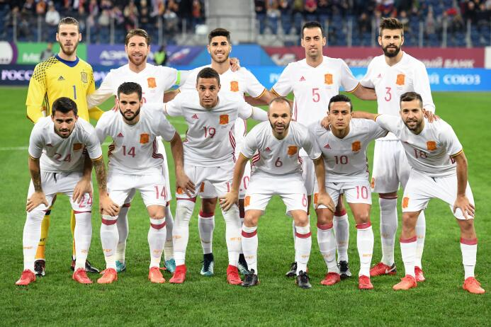 6. España (UEFA) - 1,231 puntos