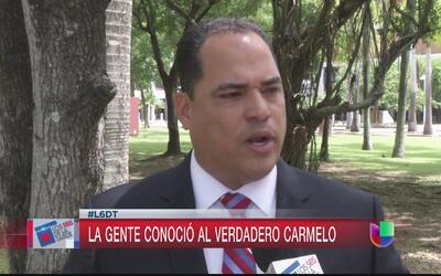 """""""Voy a bajar un poco el tono"""", dijo el ex candidato a alcalde Carmelo Ríos"""
