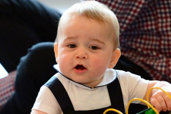 El príncipe George llega esta semana a su primer añito de vida.