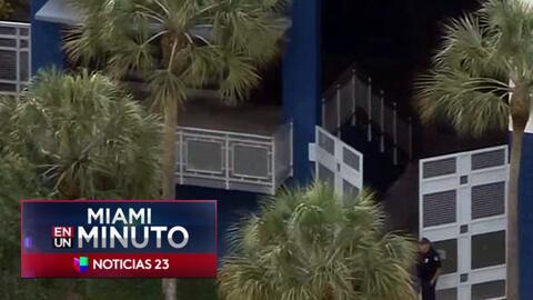'Miami en un Minuto': policía activó código rojo en una escuela secundar...