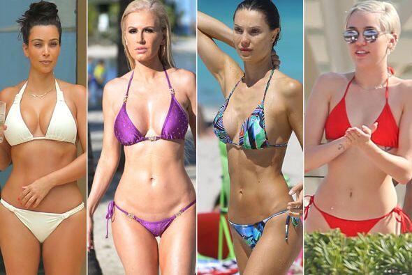 Disfruta del calor del verano junto a esta selección de los bikinis más...