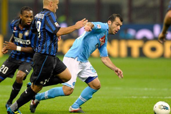 Inter intentó salir de su mal momento al enfrentar al Nápo...