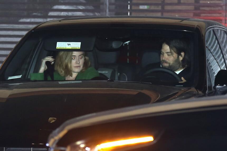 Adele y su guardaespaldas