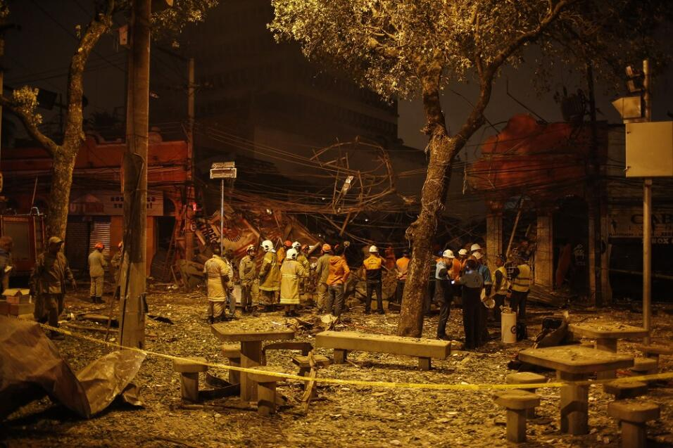 Explosión en Río de Janeiro