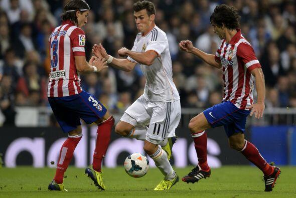 Bale también ayudó a aumentar la presión del Real Madrid.