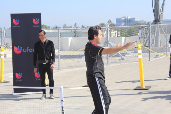 Las leyendas del futbol, Adrian Chavez y Paco Palencia se enfrentan en u...