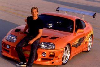 Subastaran el Toyota Supra de Paul Walker en 'Fast and Furious'