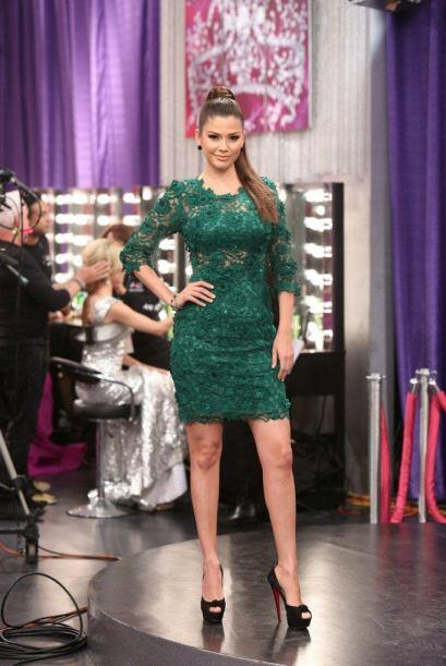 Ana Patricia es una 'fashionista' de tiempo completo.