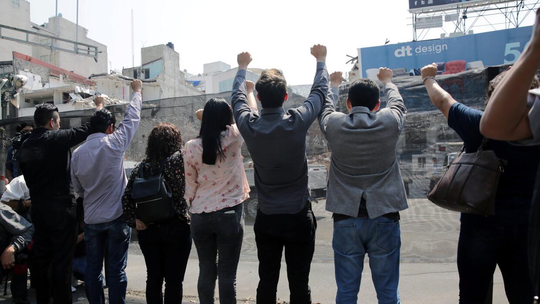 México a un mes del terremoto