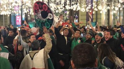 ¿Inauguración? Los mexicanos celebraron haber ganado el 2026