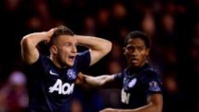 Nuevo traspié del United, que deberá remontar en Old Trafford la elimina...