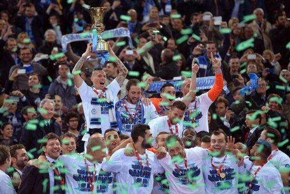 El Napoli conquistó su quinta Coppa Italia en medio del caos, der...