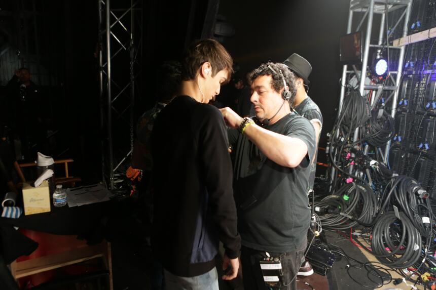 Backstage pass con La Banda LIVE