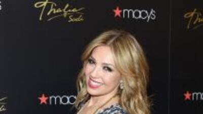 Thalía se siente muy feliz de formar parte de esta iniciativa, interpret...