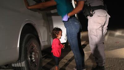Las fotografías de niños inmigrantes detenidos en EEUU que han escandalizado al país