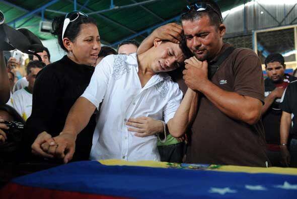 Edwin Valero se suicidó en su celda, un día después de haber confesado e...