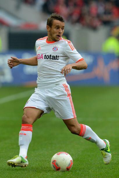 El jugador del cuadro bávaro se está afianzando en la defensa y destaca...