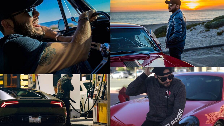 El cantante de 27 años es un gran amante de los autos, en general...