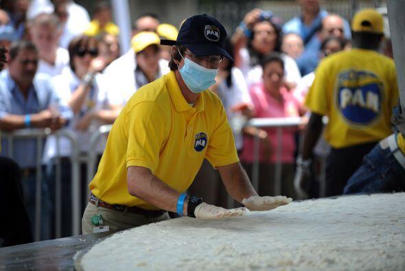 Venezuela rompió el récord Guinness de la arepa más...