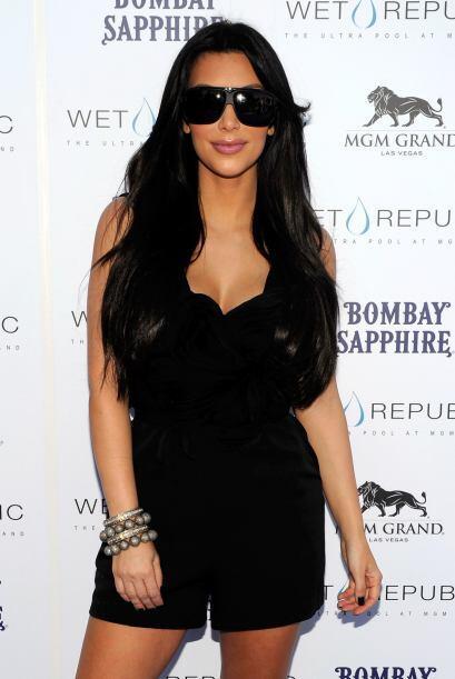 En conclusión, Kim asegura que sus voluptuosas curvas se deben a la gené...
