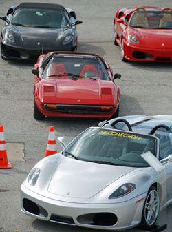 La serie de seis carreras atrae también a los dueños de Ferrari en cada...