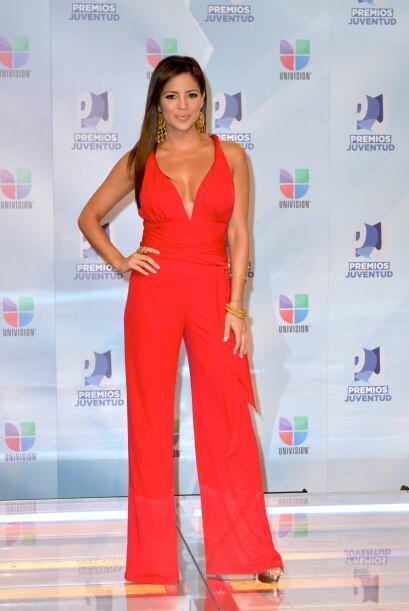 Pamela Silva Conde eligió un atuendo que ocultó su lado más sexy.