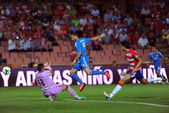 Pero pronto se abrió el marcador y fue a favor del equipo visitante.