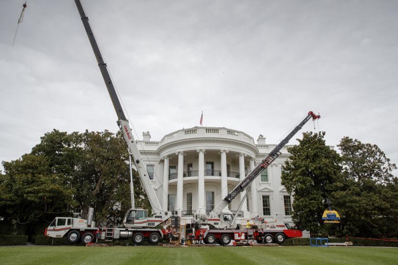 Remodelacion en la Casa Blanca