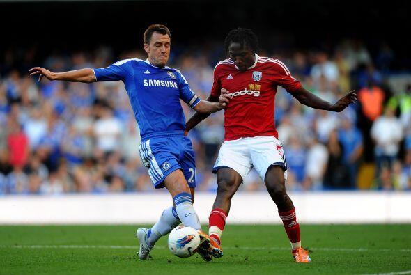Chelsea enfrentó al West Bromwich en un partido vibrante con much...