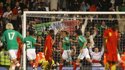 México se medirá ante Ghana previo a disputar la Copa Oro