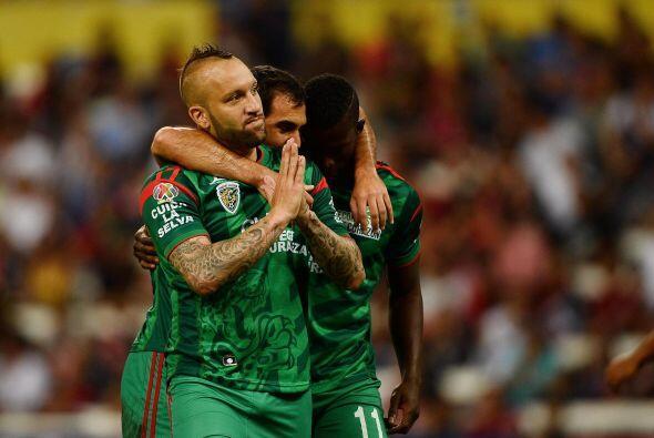 Los Jaguares de Chiapas tienen ocho jugadores no nacidos en México en su...