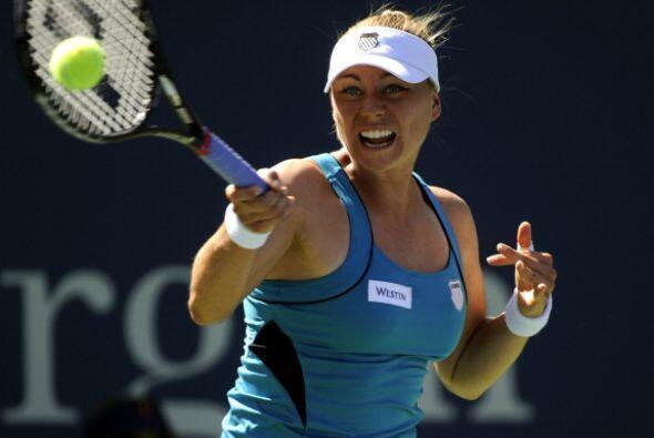 Es una de las tenistas más atractivas de la WTA y, además, tiene calidad...