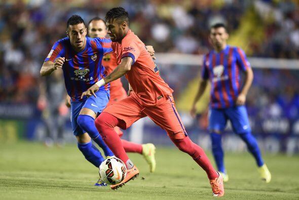 La superioridad del Barcelona fue manifiesta desde el comienzo del partido.
