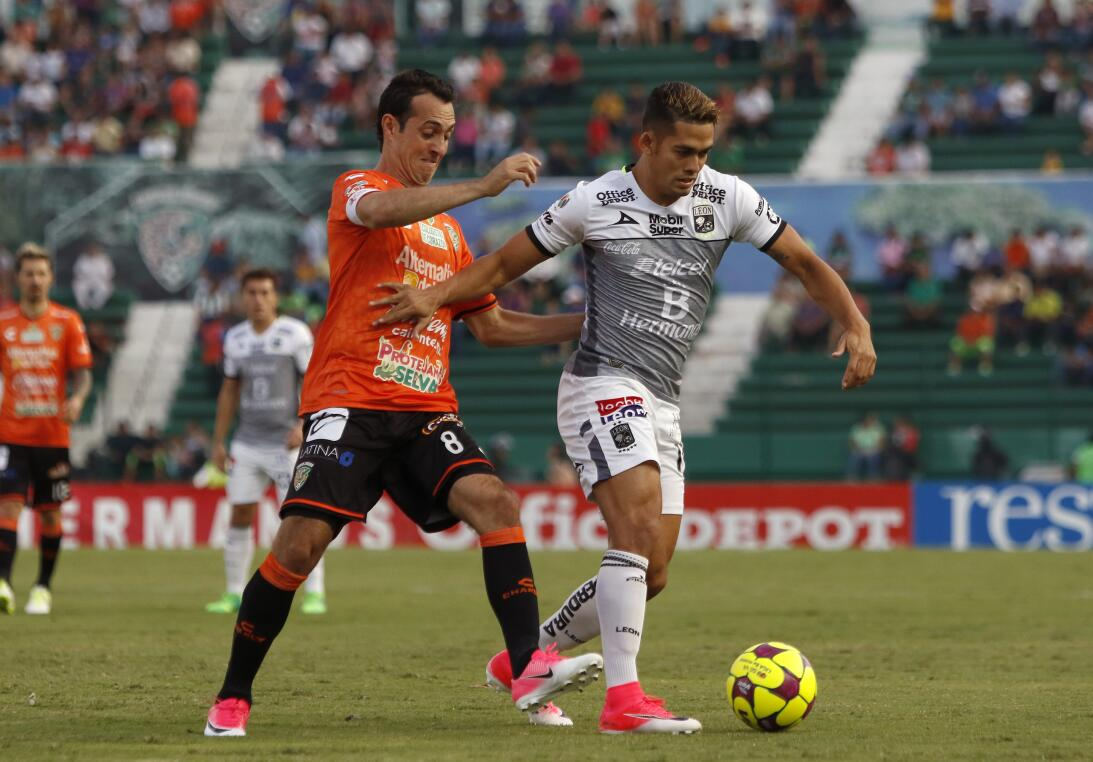 Aburrido empate entre Jaguares y León Diego de la Torre de Jaguares y An...