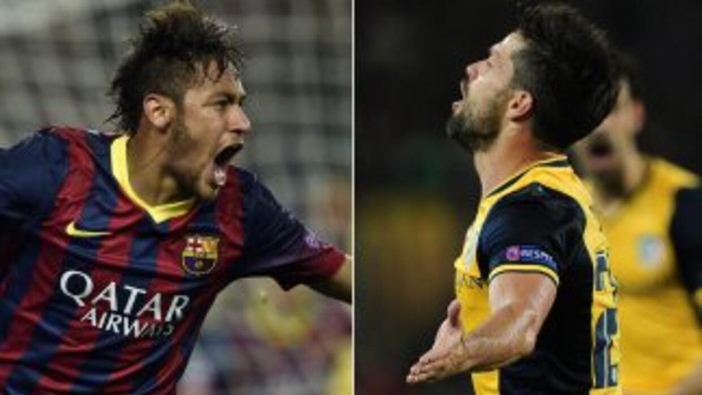Neymar empató el juego con un golazo, aunque Diego había marcado una joy...