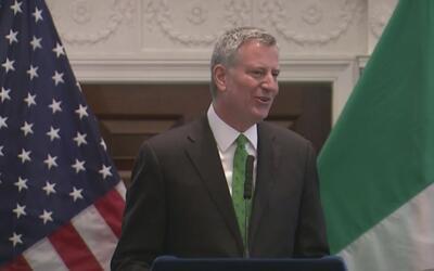 Bill de Blasio firmará 28 nuevas leyes de regulación para Nueva York