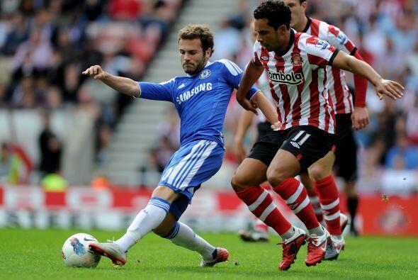 Chelsea visitó al Sunderland en un partido que prometía bu...