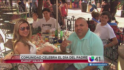 Padres de familia de San Antonio festejan el Día del Padre