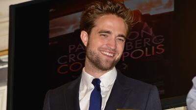 Robert Pattinson recuperó el buen humor
