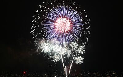 Fuegos artificiales, el plato fuerte de la celebración en Illinois por l...