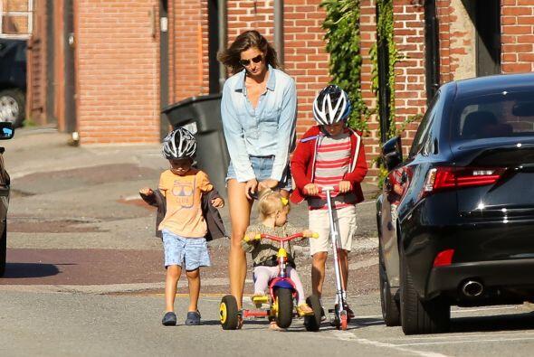 Como ven, ella puede manejar prefectamente a los niños, sin necesidad de...