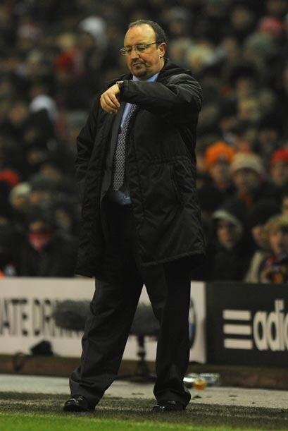 Para Rafa Benítez, entrenador del Liverpool, las horas pueden estar cont...