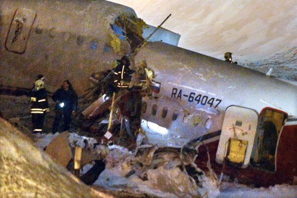 Según las agencias rusas, durante los últimos dos meses dos accidentes s...