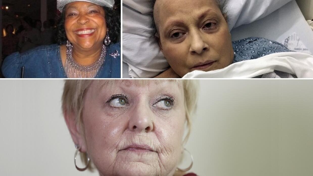 Jackie Fox, Eva Echevarría y Deborah Giannecchini, tres de las mujeres a...