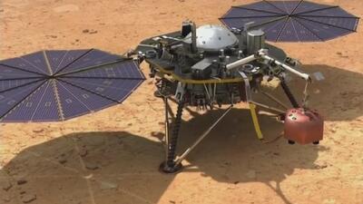 ¿Cuáles son los objetivos de la sonda InSight tras su exitoso aterrizaje en Marte?