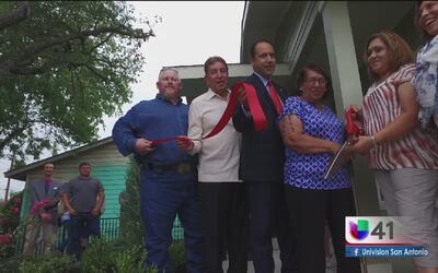 Una organización apoya a un veterano de guerra de San Antonio con una ca...