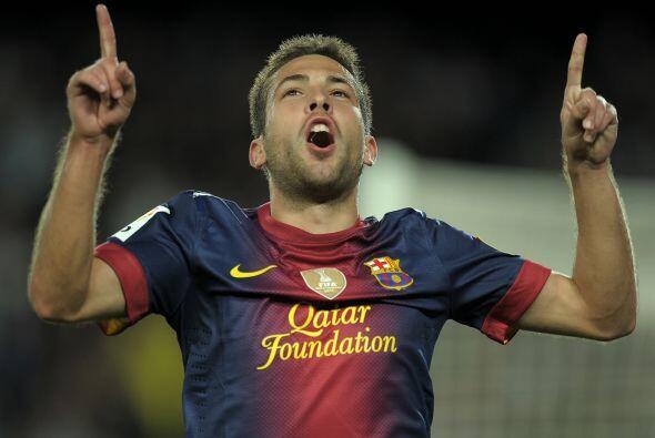 Alba cerró la cuenta en a victoria barcelonista ante el Celta de Vigo y...