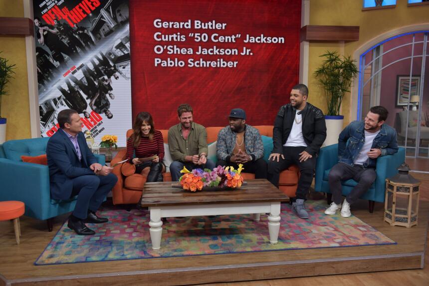 Gerard Butler en Despierta América