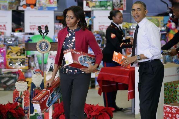 """""""Toys for tots"""" es una campaña benéfica que sólo bu..."""