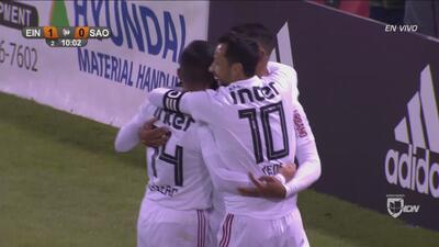 Sao Paulo dio cátedra de cómo salir en velocidad y anotó el empate